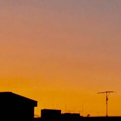 空/雲/夕焼け/癒し 今日も 綺麗な雲から 迫力のある雲に代わ…(4枚目)