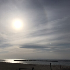 海辺/令和の一枚/フォロー大歓迎/LIMIAファンクラブ/至福のひととき/LIMIAおでかけ部/... 海 日本海  これから海へ日が沈んでいき…