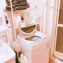 パナソニック ヘアドライヤー ナノケア 白 EH-CNA9A-W | ナノケア(ホームベーカリー)を使ったクチコミ「洗面所✩」(2枚目)