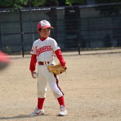 GW/わたしのGW 休みの日も野球 既に日焼けでこんがり焼い…(1枚目)