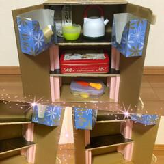 おままごと/工作/子供/DIY/100均/ハンドメイド 5歳の長女が「冷蔵庫を作りたい」と言い出…