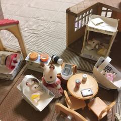 おうち時間/工作/牛乳パック/子供のおもちゃ/簡単/ぬいぐるみ 子供が「うさぎちゃんのベッドがない!」と…