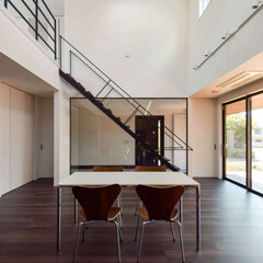 設計士/建築家/吹き抜け/バルコニー/ウッドデッキ/光と風を感じる設計/... 神奈川県大和市KJ邸 完成  設計監理さ…