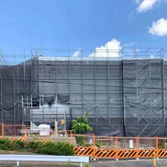 建築/住まい/公共施設建築設計/住宅設計/一級建築士 綾瀬市新商工会館 現場レポート  外壁が…