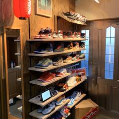 シュプリーム/靴収納/玄関収納/玄関/DIY/収納/...