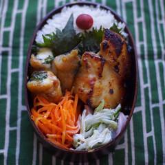 お弁当/グルテンフリー 豚肩ロースの大葉チーズ巻き照り焼き。佐藤…