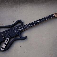楽器のある生活/楽器/ギター/3Dプリンター/3Dプリンタ/わたしの手作り 3Dプリンターで制作したギター GOON…