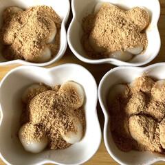 白玉粉 前原製粉 150g(餅粉、白玉粉)を使ったクチコミ「子どもとオヤツ作りしました。 白玉粉でき…」