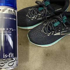 オールマイティ防水スプレー180ml(フットケア)を使ったクチコミ「登校前に、子どもの靴に防水スプレーをかけ…」