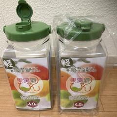 タケヤ化学工業 タケヤ 果実酒びん R型 2.4L(その他調理用具)を使ったクチコミ「そろそろ梅の季節。 今年は梅酒をつくる予…」