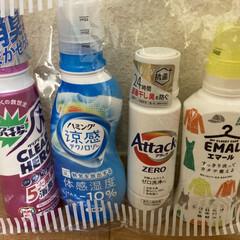 アタック ZERO 本体 400g | アタック(液体洗剤)を使ったクチコミ「花王の洗剤セットを購入しました! その中…」