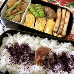 三島食品 ゆかり 大袋 60g 1袋(ふりかけ)を使ったクチコミ「うちの定番料理、、、それは梅干しごはん💦…」