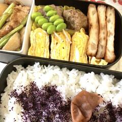 三島食品 ゆかり 大袋 60g 1袋(ふりかけ)を使ったクチコミ「うちの定番料理、、、それは梅干しごはん💦…」(2枚目)