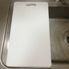 シンク/まな板/キッチン雑貨/キッチン/おすすめアイテム/快適掃除 キッチンの穴開き水切りプレートが壊れてし…