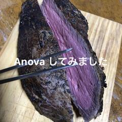 ローストビーフ/真空調理/ANOVA 最近は1.8%の三温糖とクレージーソルト…