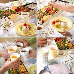 レジャー/ピクニック/簡易食器/紙コップ/紙皿/簡単/... 手軽でおしゃれな簡易食器《WAKKA(わ…