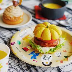 サンナップ/ロディ/ピクニック/ホームパーティー/ハロウィンテーブルコーディネート/かぼちゃレシピ/... 秋のピクニックに持っていきたい、丸ごとか…(1枚目)
