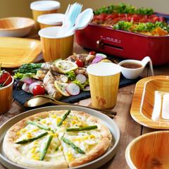 サンナップ/サンオリ/お弁当/ピクニック/ピクニック弁当/ホームパーティー/... . みんなでピザパーティー!🍕そんな時に…(1枚目)
