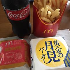 美味い/季節限定/期間限定/マクド/マック/ハンバーガー/... 月見バーガーの季節ですね!