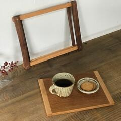 プレート/トレイ/木工/大阪/オーダーメイド/暮らしの道具/... トレイの中板は取り外し可能です。 中板は…