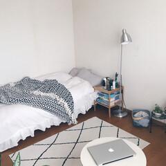ベッドカバー/ベッド/ベッドルーム/ベッドサイド/LIMIAインテリア部/暮らし/...