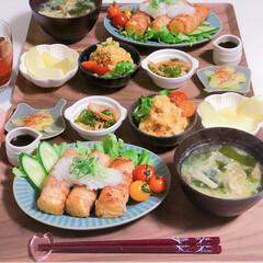 イイホシユミコ/よしざわ窯/ヘルシー/糖質制限/節約ごはん/作り置き/... 春らしく彩りもカラフルに、 栄養バランス…