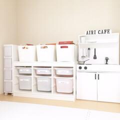 おままごとキッチン/手作り/フォロー大歓迎/ハンドメイド/DIY/子供部屋/... すごく前の写真なのですが、このおままごと…