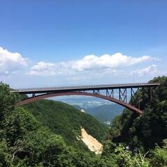 つばくろ谷/不動沢橋/スカイライン/旅の景色/福島/旅行/... 福島県にあるスカイラインの途中にある つ…
