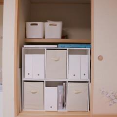 子供部屋/和室/整理収納アドバイザー/吊り押入れ/押入れ/押入れ収納/... こちらも押入れ収納です。 ここの物は以前…