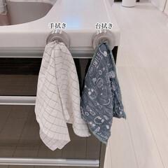 ダルトン Towel holder Round タオルホルダー CH04-H117 | DULTON(物干しハンガー、ピンチ)を使ったクチコミ「キッチンのタオル掛けをダルトンのタオルホ…」