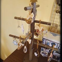 ポスター/クリスマスツリー/クリスマスバージョン/クリスマス2019/DIY/雑貨/... 部屋の模様替えをクリスマスバージョン🎄に…