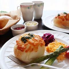 LIMIAごはんクラブ/わたしのごはん/おうちごはんクラブ/グルメ/フード/スイーツ/... 手作りパンで朝ごパン チーズパンとシンプ…(1枚目)