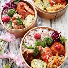 お昼ごはん/こごみ/卵焼き/鶏肉料理/limiaキッチン同好会/お弁当/... 今日のお昼ご飯はお弁当  鶏肉のしょうが…