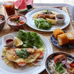 お昼ごはん/バインセオ/フォー/ベトナム料理/至福のひととき/LIMIAごはんクラブ/... ベトナム料理でこんにちは! バインセオと…