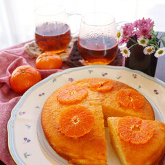 手作りスイーツ/ケーキ/手作りおやつ/手作りケーキ/オレンジケーキ/limiaキッチン同好会/... 昨日作ったオレンジケーキ🍊 ビタミンカラ…