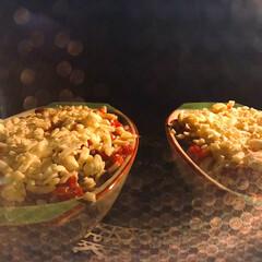チーズ/節約レシピ/リメイク/タコライス/夕飯/夜ご飯/... ドリアをオーブンで焼いている最中〜  先…