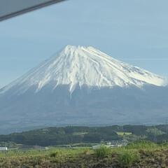 令和の一枚 富士山🗻きれいでしたよ