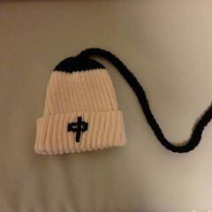 手作りアクセ アクセとゆーか…帽子… 見る人が見たら分…