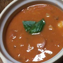パン友/手作り/スープ/寒い朝/次のコンテストはコレだ!/節約 日に日に 寒くなって来たので (>_<)…