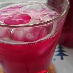 手作りジュース/赤紫蘇ジュース/雨季ウキフォト投稿キャンペーン/令和の一枚/LIMIAファンクラブ/至福のひととき/... 赤紫蘇ジュースを作りました🍷 今年の夏は…(2枚目)