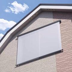 遮熱/スクリーン/ロールスクリーン/サングッド/日射し対策/夏/... 夏の強い日射しや西日を窓の外から大幅カッ…