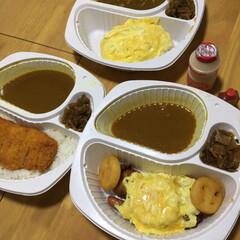 夕ご飯/デリバリーサービス/春のフォト投稿キャンペーン 昼出かけたので、夕飯は、CoCo壱のカレ…