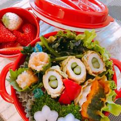 娘弁当/女子高生弁当/お弁当/LIMIAごはんクラブ/おうちごはんクラブ/セリア おはようございます! 今日の娘のお弁当。