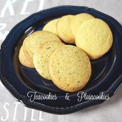 クッキー/スイーツ プレーンクッキーと紅茶のクッキー🍪を沢山…(1枚目)
