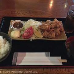 新宿/新宿三丁目/肉バルBU-MO/鶏のげんこつ唐揚げ/鶏の唐揚げ/LIMIAごはんクラブ/... 肉バルBU-MOでランチ♪