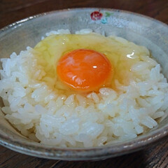 わたしのごはん/TKG/卵かけご飯/卵かけごはん/朝ごはん/朝食/... TKG@朝ごはん  こんにちは👋😃…