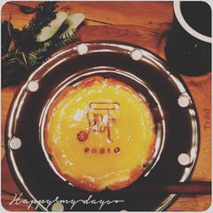 チーズケーキ/PABRO/ドット/ぽってり/チョコレート色/食器/... こんにちは(୨୧ᵕ̤ᴗᵕ̤)♬︎♡  先…