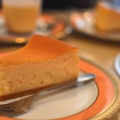 甘党大集合 とっても濃厚なチーズケーキ。