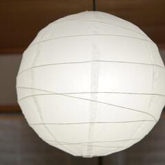 LED電球/トロードフリ/オシャレ/照明器具/ルームライト/IKEA 和室の寝室にて。  調色可能なLED電球…(2枚目)