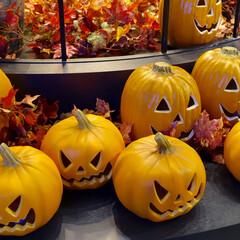ハロウィン ハロウィンかぼちゃ